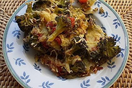Überbackener Brokkoli mit Tomaten 10