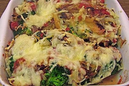 Überbackener Brokkoli mit Tomaten 8