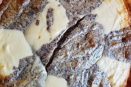Mohn - Quark - Fleckerl - Kuchen 17