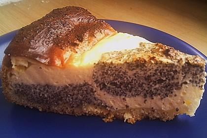 Mohn - Quark - Fleckerl - Kuchen 15