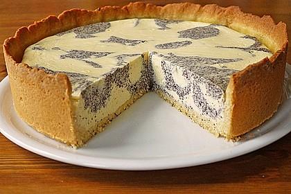 Mohn - Quark - Fleckerl - Kuchen 4