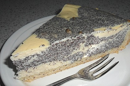 Mohn - Quark - Fleckerl - Kuchen 1