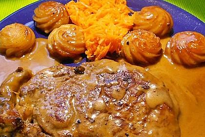 Rindersteak mit Orangen - Wacholder - Sauce 2