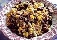 Kidneybohnen - Salat mit Thunfisch und Käse