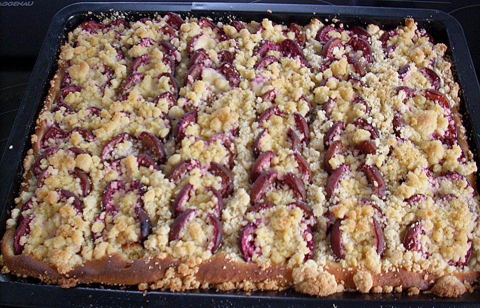 Zwetschgen Streuselkuchen Von Mdj04 Chefkoch De