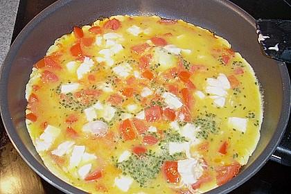Mozzarella - Rührei à la Sabine (Bild)