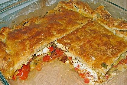 Schafskäse - Tomaten - Pita 1