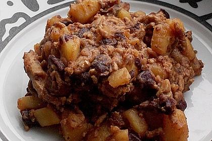 Kartoffeln mit Chili con Carne 1
