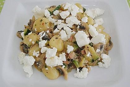 Gnocchipfanne mit Zucchini und Speck 13