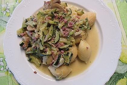 Gnocchipfanne mit Zucchini und Speck 19