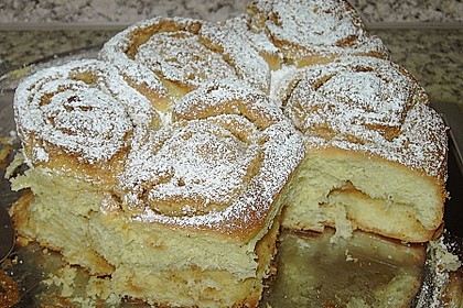 Karamell - Rosenkuchen