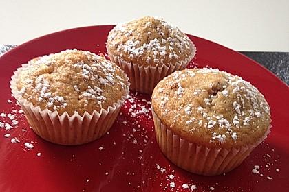 Bananen - Walnuss - Muffins 1
