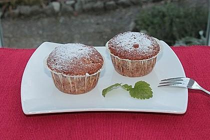 Bananen - Walnuss - Muffins 4