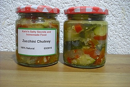 Zucchini - Chutney (Bild)