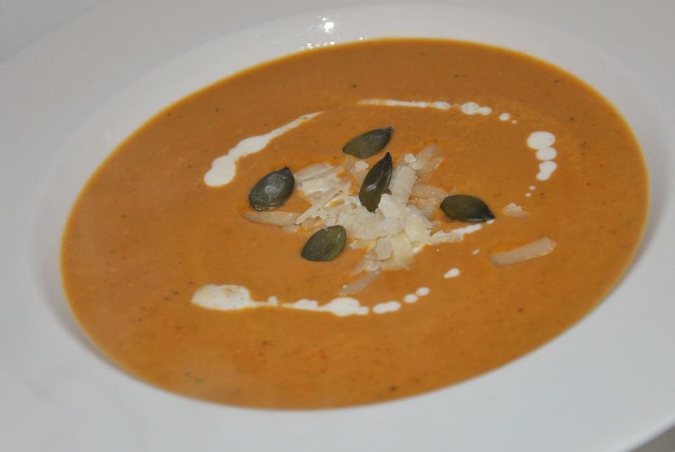 Mediterrane Kürbissuppe von manujetter | Chefkoch