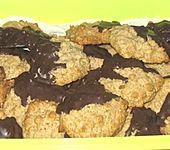 Haferflocken - Walnuss - Kekse (Bild)