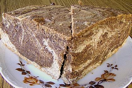 Marmor - Nougat Kuchen 1