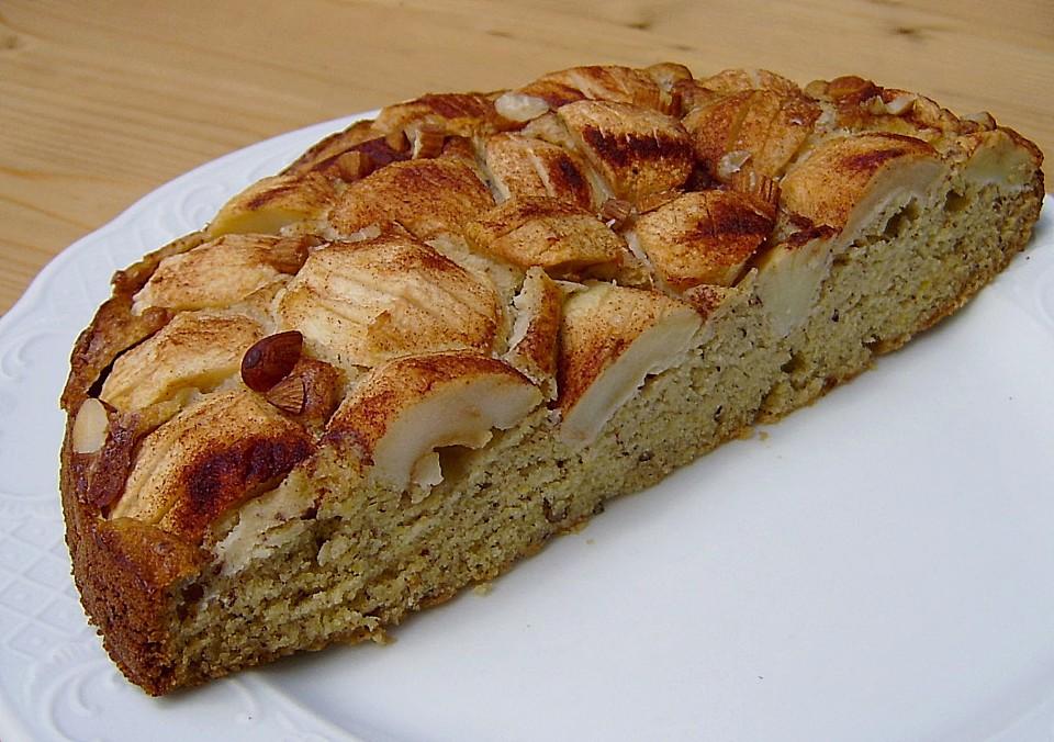 Apfel Nuss Kuchen Ein Sehr Schones Rezept Chefkoch De