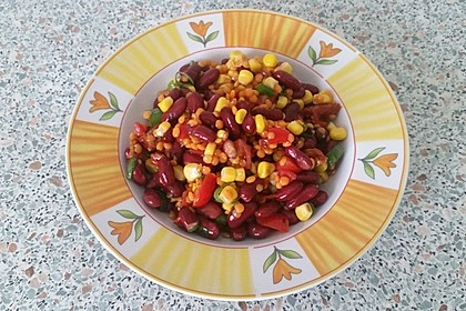 Roter Linsen - Salat 12