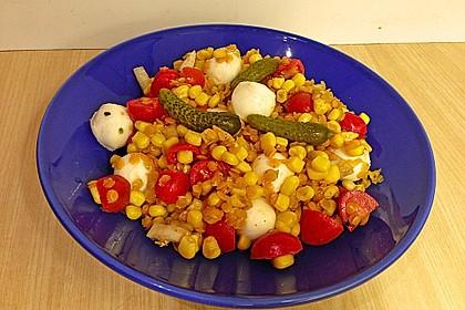 Roter Linsen - Salat 15