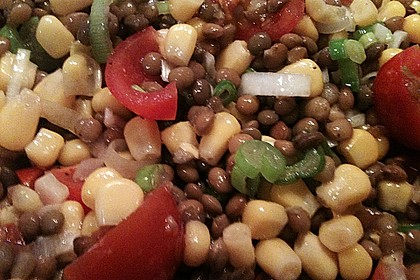 Roter Linsen - Salat 24