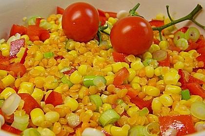 Roter Linsen - Salat 8