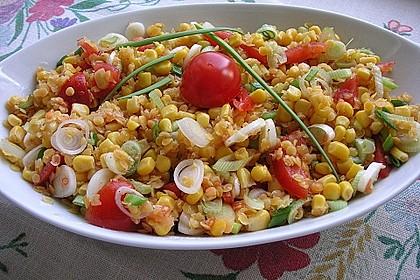 Roter Linsen - Salat 1