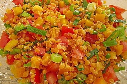 Roter Linsen - Salat 4