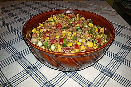 Roter Linsen - Salat 20