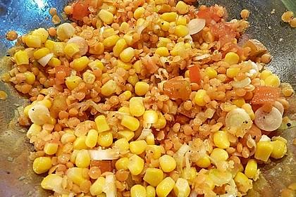 Roter Linsen - Salat 21
