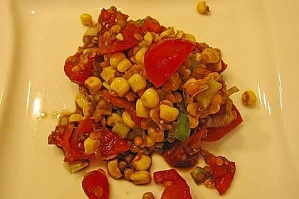 Roter Linsen - Salat 25