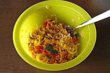 Roter Linsen - Salat 22