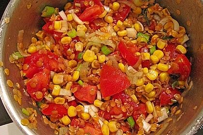 Roter Linsen - Salat 23