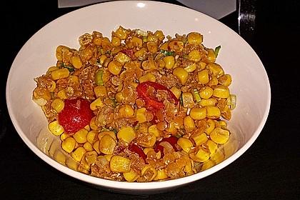 Roter Linsen - Salat 16