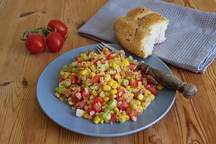 Roter Linsen - Salat