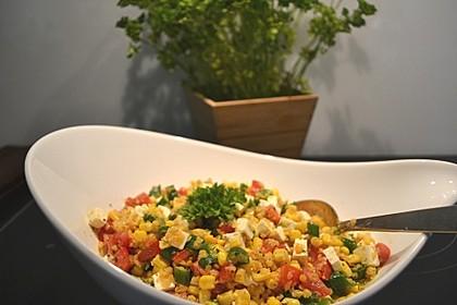 Roter Linsen - Salat 2