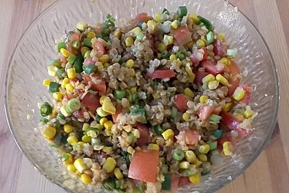 Roter Linsen - Salat 10