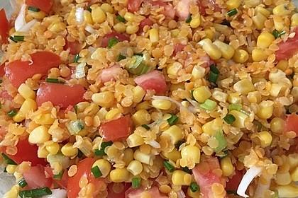 Roter Linsen - Salat 7
