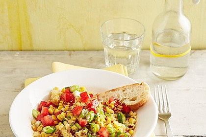 Roter Linsen - Salat 6
