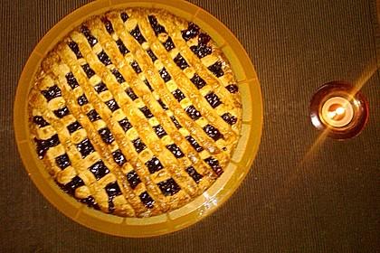 Linzer Torte aus Mürbteig (Bild)