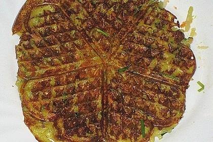 Gemüsepuffer mit Kartoffeln, Zucchini und Möhren 19