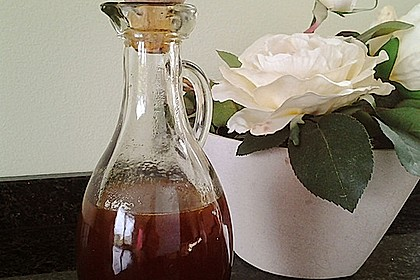 Balsamicoreduktion mit Orangensaft und Ingwer 2