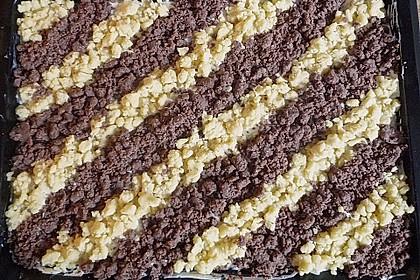 Zebra-Streuselkuchen 10