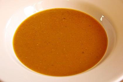Kürbissuppe nach indischer Art 1