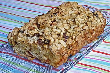 Apfel - Cornflakes - Brot