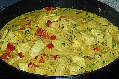 Bananen - Hühner - Curry 10