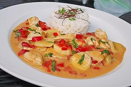 Bananen - Hühner - Curry