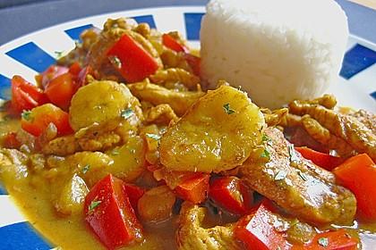 Bananen - Hühner - Curry 1