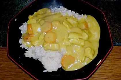 Chicken - Kokos - Curry 11