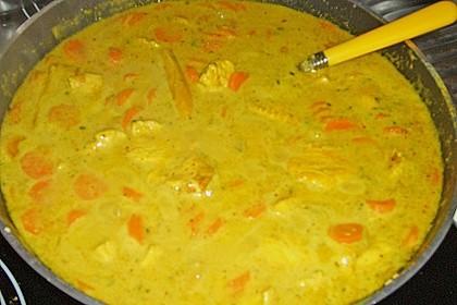 Chicken - Kokos - Curry 9